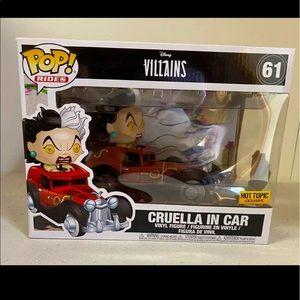 Disney Villains Cruella in Car Exclusive